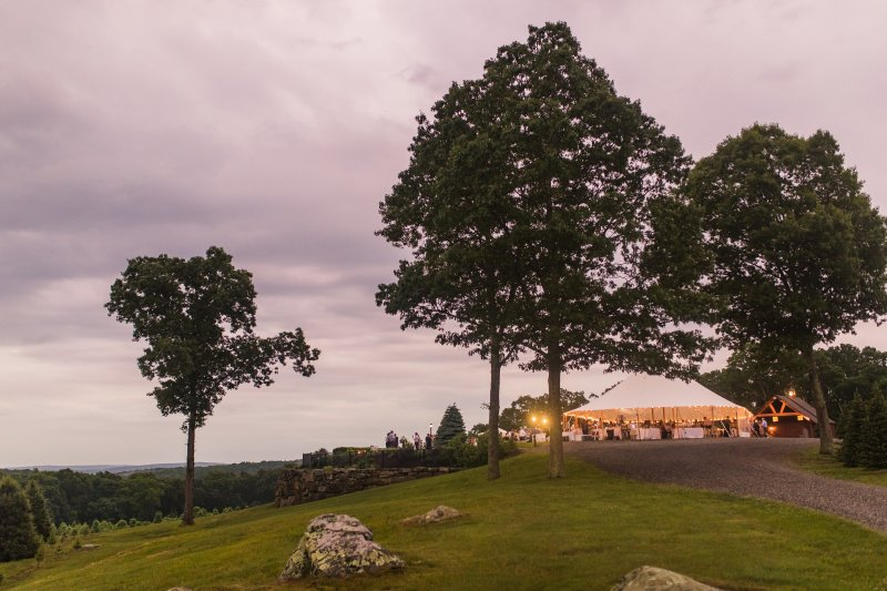 Overlook at Geer Tree Farm Wedding for Alex andKatie